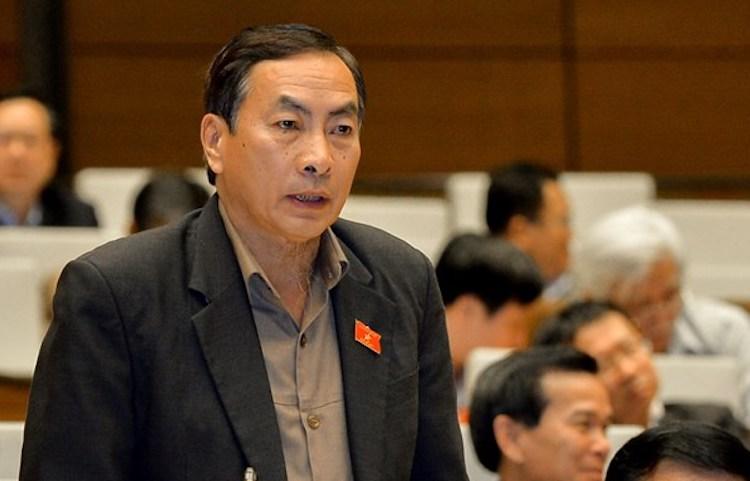 Đại biểu Quốc hội Phạm Văn Hoà. Ảnh: Trung tâm báo chí QH